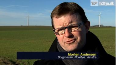 Video: Medvind til vindmøller på Nordfyn