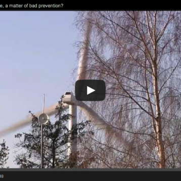 Video: Wind Turbine Syndrome, a matter of bad prevention?