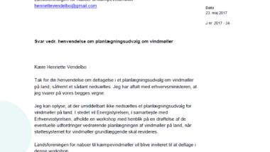 Landsforeningen LNtK er inviteret af Energi- og Erhvervsstyrelsen