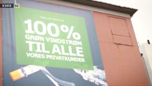 Falsk markedsføring af grøn vindstrøm