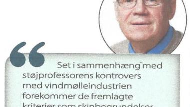 Vindmølleindustri fyrede AAU-professor
