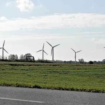 Venstre siger nej til vindmøller på land