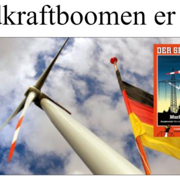 Vindkraftboomen er over